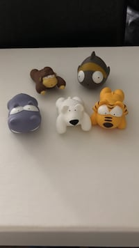 5 animal Water squirt toys