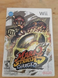 Wii super Mario strikers charged game Palm Bay, 32909