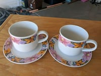 Flower China Tea/Coffee Cups Guadalupe, 85283