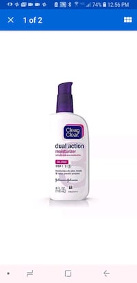 Clean & Clear Dual Action Moisturizer  Leesburg, 20176