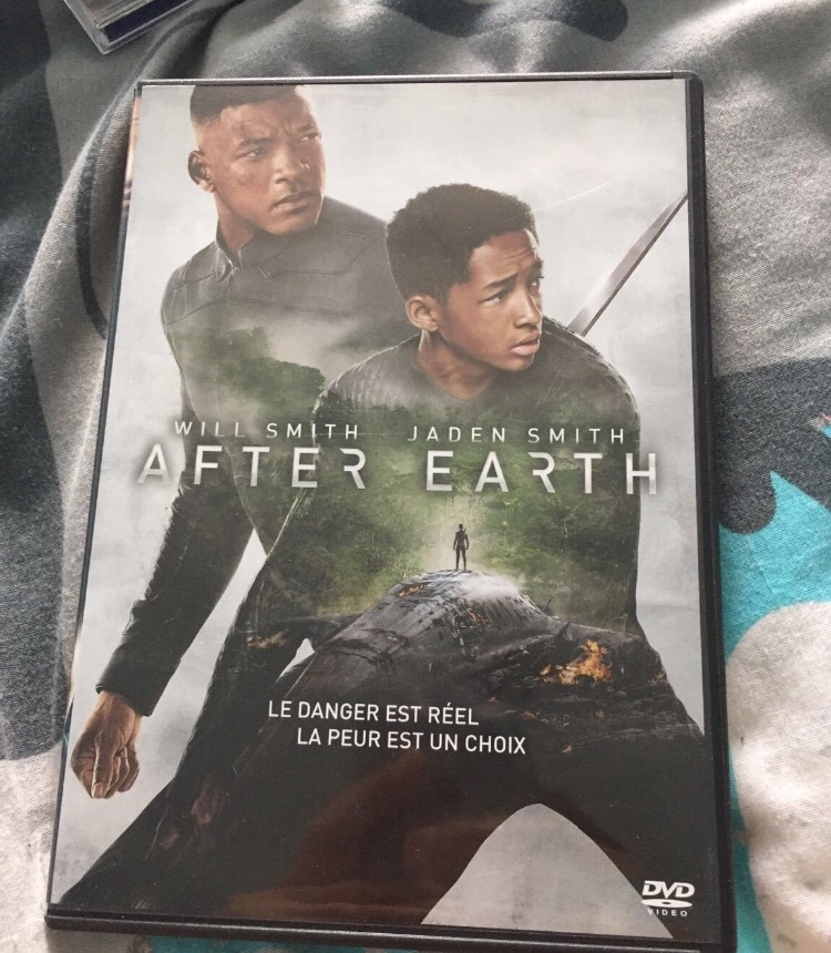 DVD after Earth NEUF