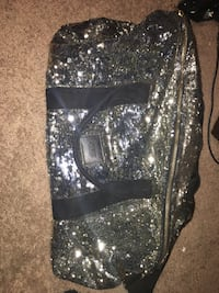 black and gray sequin pants Proctorville, 45669