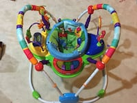 baby's green and blue jumperoo New Tecumseth, L0G