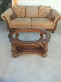 Coffee table, comes with glass McKinney, 75069