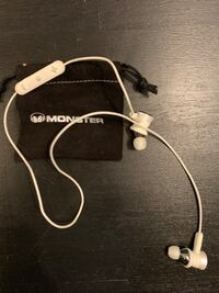Bluetooth Monster Clarity In-Ear Wireless Headphones with Mic Ottawa