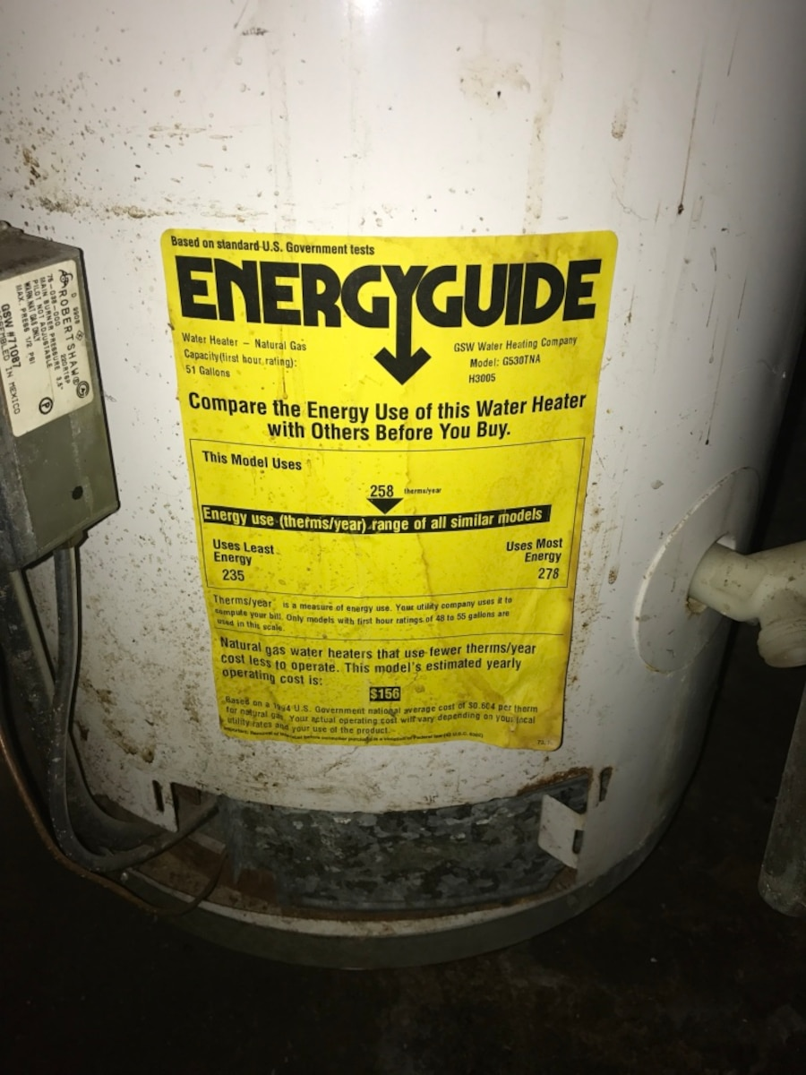 Used hot water heater in detroit for Used hot water heater
