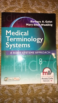 Medical Terminology Book Tracy, 95304