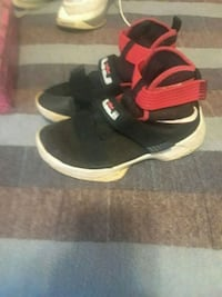 pair of black-and-red Nike running shoes Knoxville, 37920