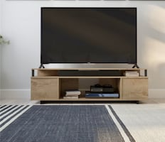 Beautiful Rustic Brown TV top for upto 65""