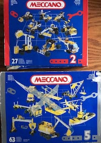 Building toys - metal & tires - all for $30 Acheson, T7X