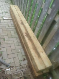 6 by 6 by 8 pressure treated lumber Barrie, L4N 9Z6