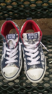 pair of white-and-pink Converse sneakers Oxnard, 93036