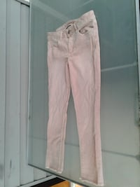 women's white fitted pants