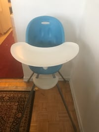baby's white and blue highchair TORONTO