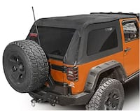Jeep Wrangler Hardtop with tailgate bar and door surrounds  PITTSBURGH