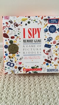 I Spy memory board game Oakville