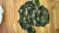 green and beige camouflage onesie Kingsport
