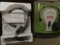 Xbox 360 headsets.