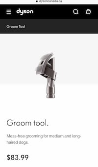 Dyson Dog Grooming Tool Barrie