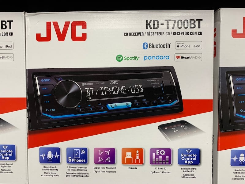 """JVC a car stereo with installation """"brand new"""" 37afdef4-5650-433a-b5f1-999dc8068fe9"""