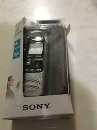 Brand New Sony ICDBX140 Voice Recorder 4GB 4176 hours Recording  Brampton, L6R 3B1