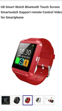 red and black smart watch Fall River, 02721