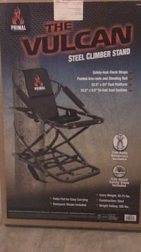 brand new climber treestand still in original box. I bought it and never used it and I'm moving and don't need it anymore 100$ or best offer NEED GONE! Morgantown, 19543