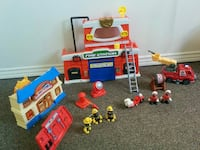 Fire station toy Hamilton, L9B 2M6