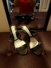 pair of black open toe heels Townsend, N0A 1S0