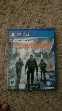 Sony PS4 The Division game case McDonough, 30253