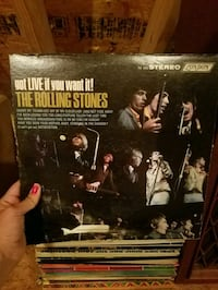 Rolling stones live it vinyl Chantilly, 20152