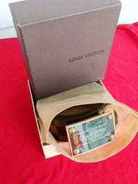 Lv belt w\box and dust bag all OG Dayton, 41074