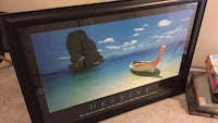 Destiny island framed photo Burke, 22015