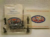 American Pewter Collection Miniature Figurines  West Springfield