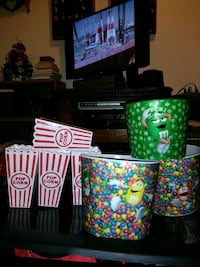 Popcorn and or candy dishes whichever you prefer West Valley City, 84120