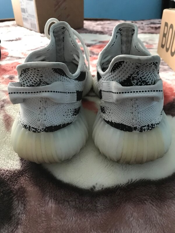 d9b387d4a Used Yeezy zebra sz 11 w box and goat certificate for sale in Carson - letgo