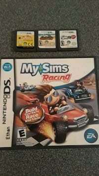MY SIMS DS GAMES LOT