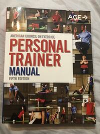 5th edition ACE personal trainer manual Falls Church, 22043