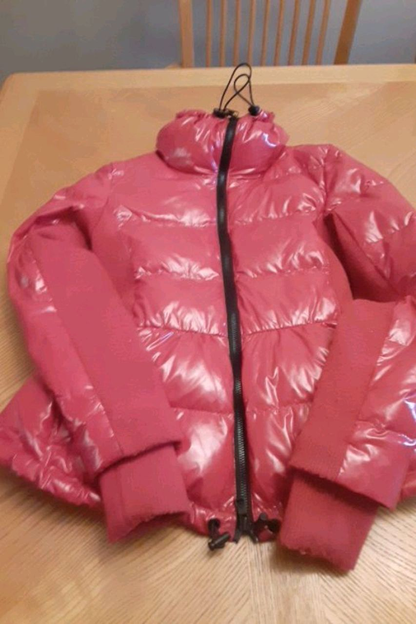 Photo Red Insulated ARMANI EXCHANGE COAT Size Xs