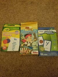 Counting, Letters, and Phonics flashcards  Corona, 92882