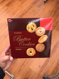 New Japan bourbon Butter cookies 306g. Best for tea or coffee Surrey, V3W 2L9