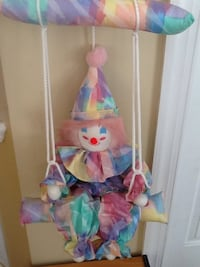 Clown On Swing decor for child's room Germantown, 20874