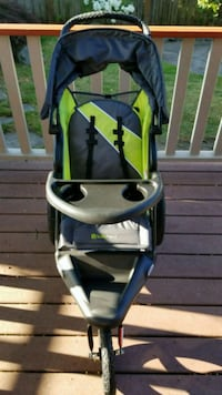 baby's black and yellow stroller Tacoma, 98406