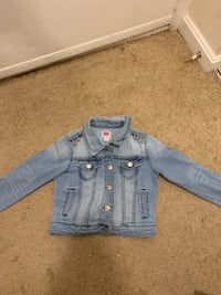 Total girl guess jean jacket (size 10/12) SPRINGFIELD