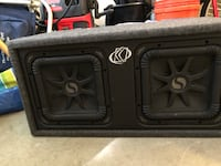 "2 10"" Kicker L5 subwoofers with enclosure Hazlet, 07730"