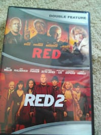 Red Collection Double Feature DVD Lake Mills, 53551