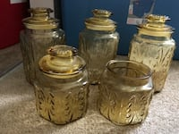 Amber Apothecary Canister Set  South Daytona, 32119