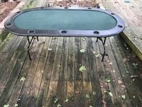 10 person poker table  Herndon, 20170