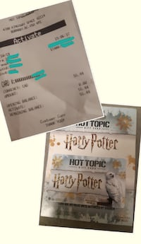 $55.44 Hot Topic Giftcard Burnaby
