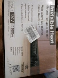 New electric heater in unopened box York Haven, 17370